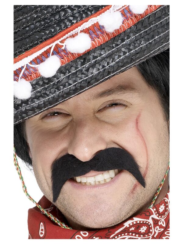 mexican bandit black tash accessories sunbury costumes