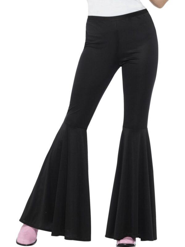 black flared adult trousers disco costume sunbury costumes