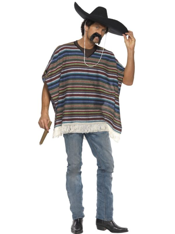 mexican striped poncho sunbury costumes