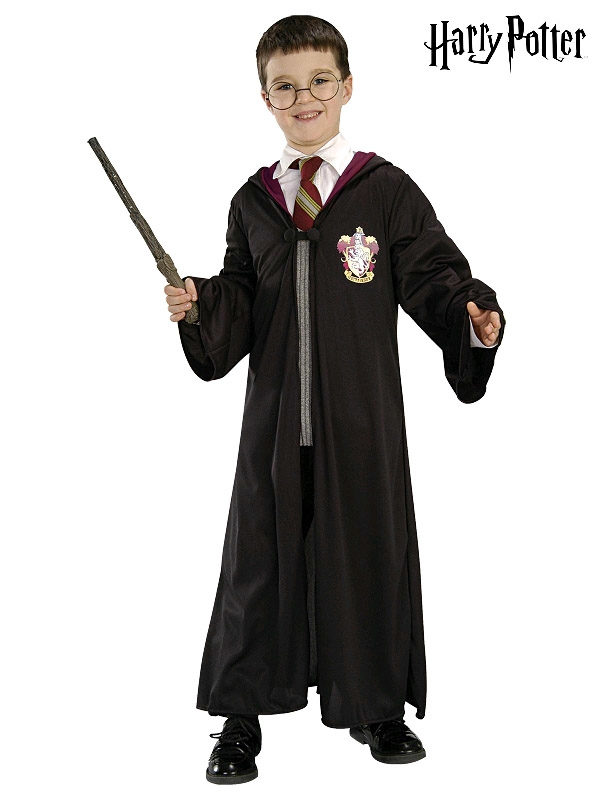 harry potter gryffindor blister kit classic robe glasses wand sunbury costumes