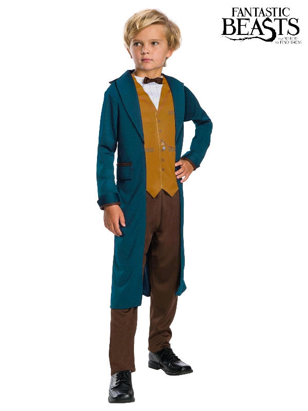 newt fantastic beasts child small costume sunbury costumes