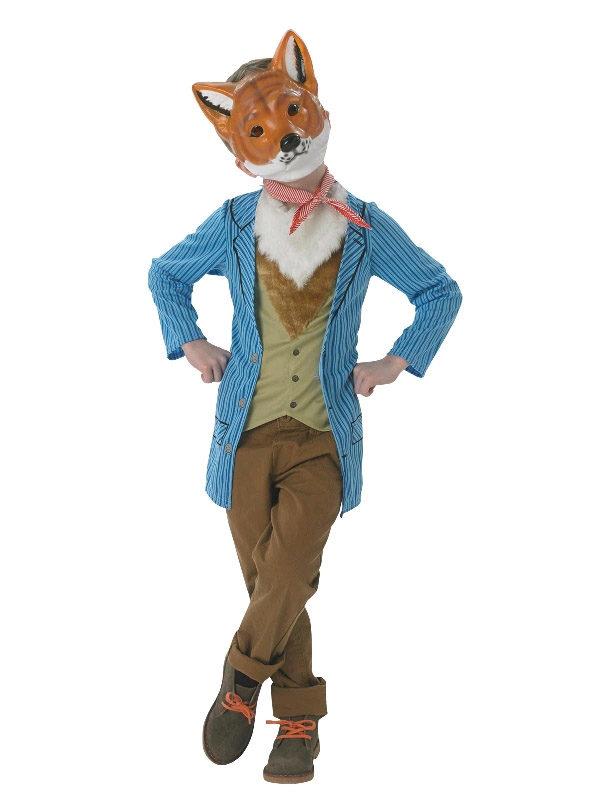 fantastic mr fox child costume roald dahl costume sunbury costumes