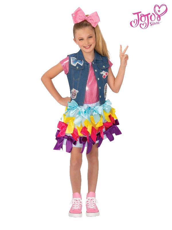jojo siwa dress vest costume bows sunbury costumes