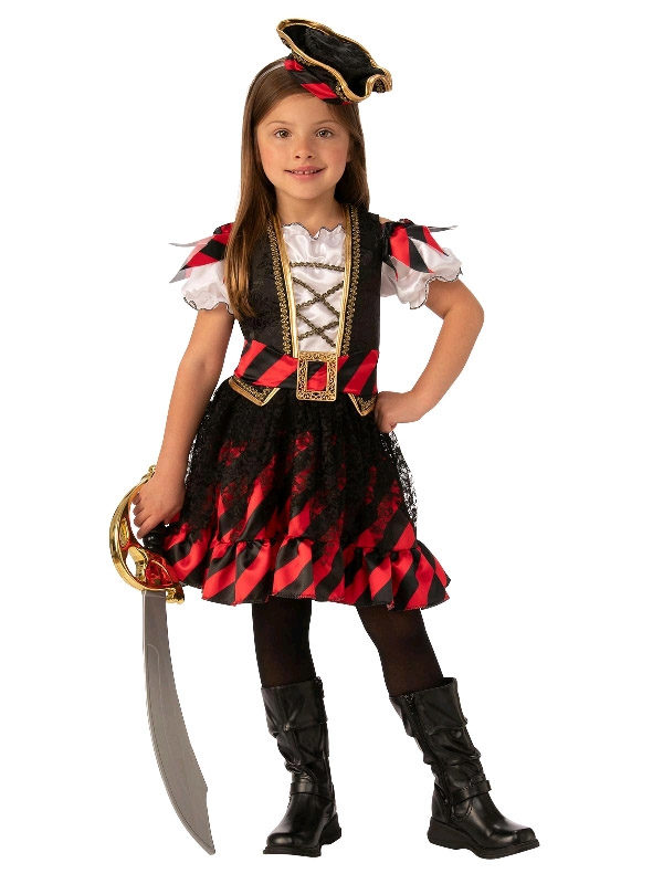 pirate deluxe girl costume rubies deerfield sunbury costumes