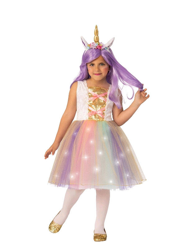 unicorn girls glitter costume sunbury costumes