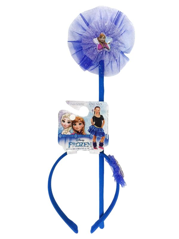 anna frozen disney headband and wand