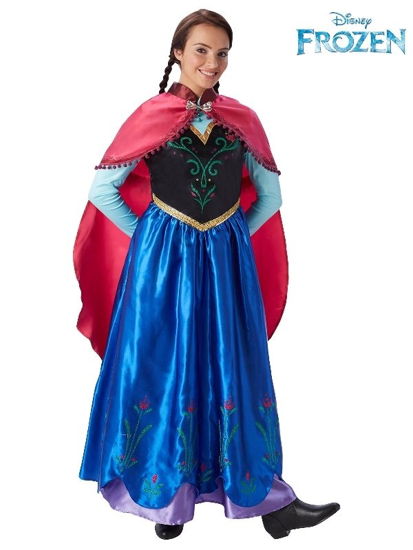 anna deluxe frozen disney womens costume sunbury costumes