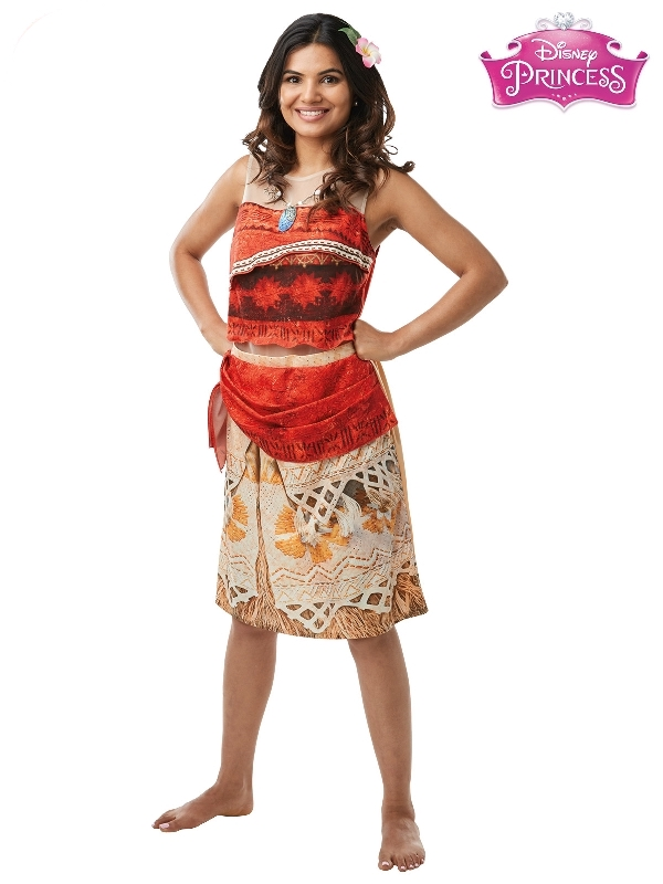 Moana Princess Deluxe Costume