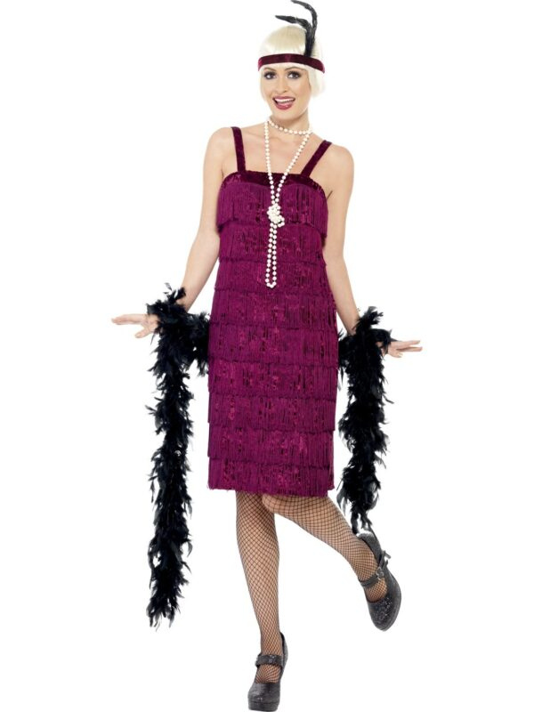 Jazz Flapper Costume-1