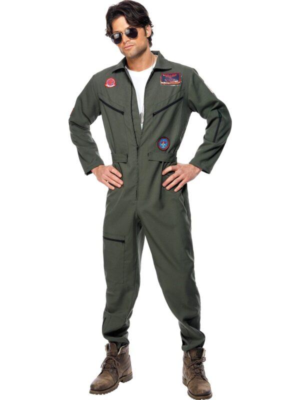 topgun maverick goose iceman adult costume smiffys 36287 sunbury costumes