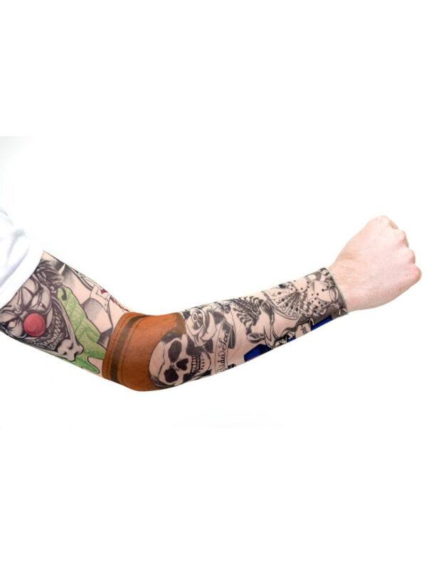 skull clowns day of the dead tattoo sleeve sunbury costumes