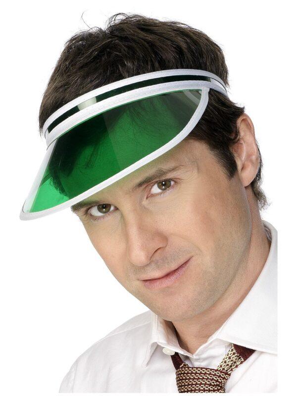 green poker visor casino vegas accessories sunbury costumes