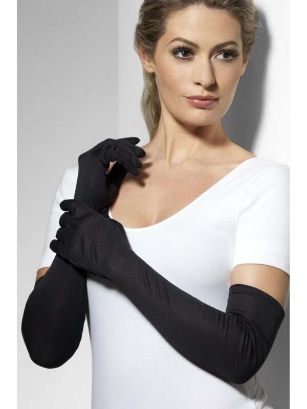 long black plain gloves gatsby accessories sunbury costumes