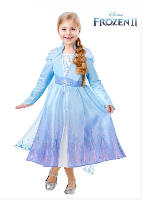 elsa frozen 2 disney child deluxe costume sunbury costumes