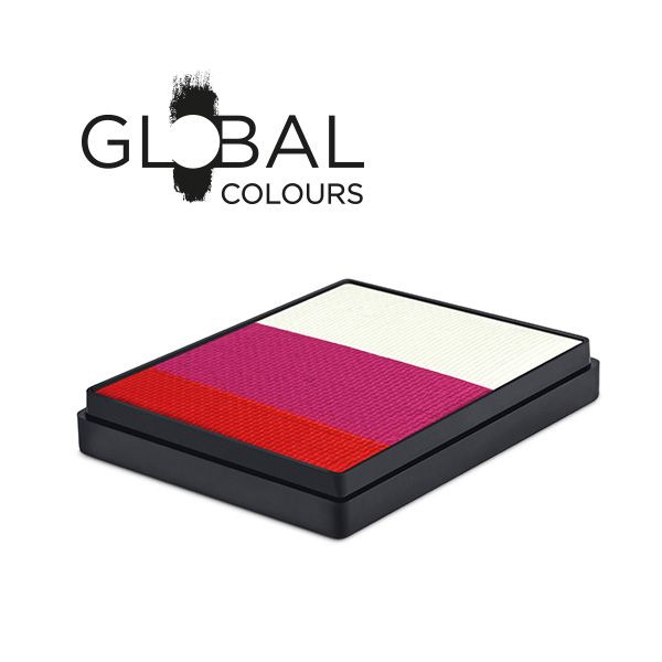 50ja japan global colours split cake 50g sunbury costumes