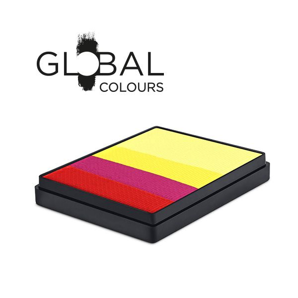 50sp global colours spain split cake 50g sunbury costumes