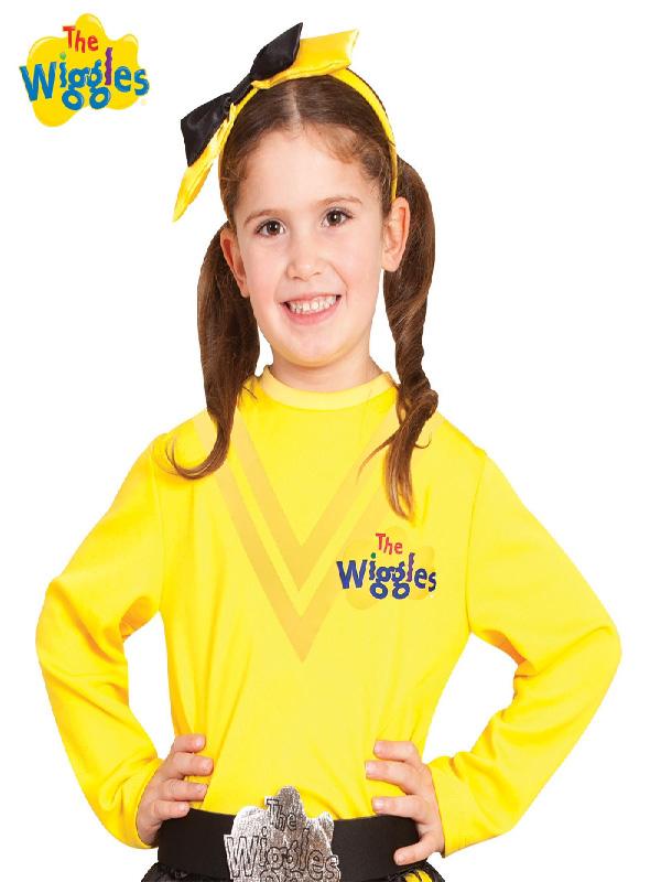 emma wiggle child costume top the wiggles sunbury costumes