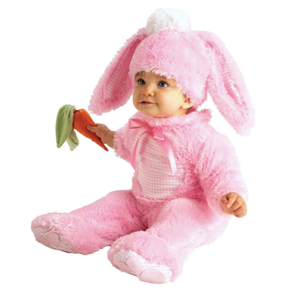 pink rabbit toddler costume animal onesie sunbury costumes