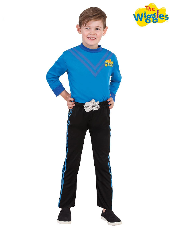 anthony blue wiggle deluxe costume set rubies sunbury costumes