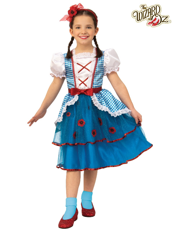 dorothy wizard of oz child deluxe costume rubies sunbury costumes