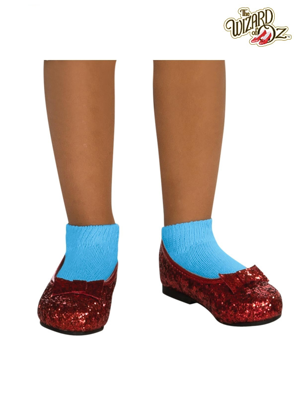 dorothy wizard of oz red slippers rubies sunbury costumes
