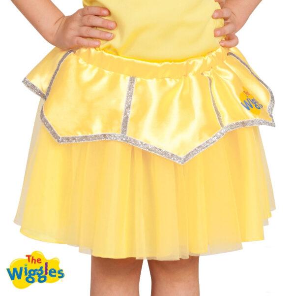 emma yellow wiggle ballerina tutu classic costume skirt sunbury costumes