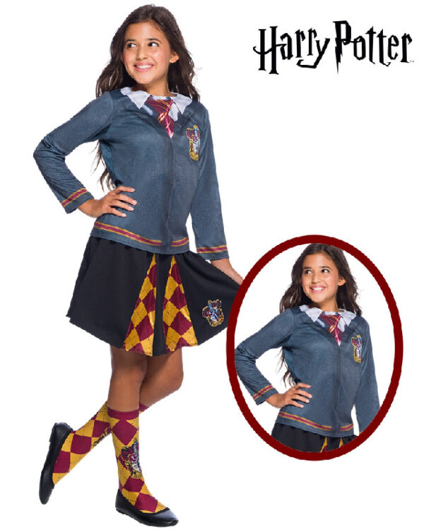 gryffindor hermione costume top rubies harry potter sunbury costumes
