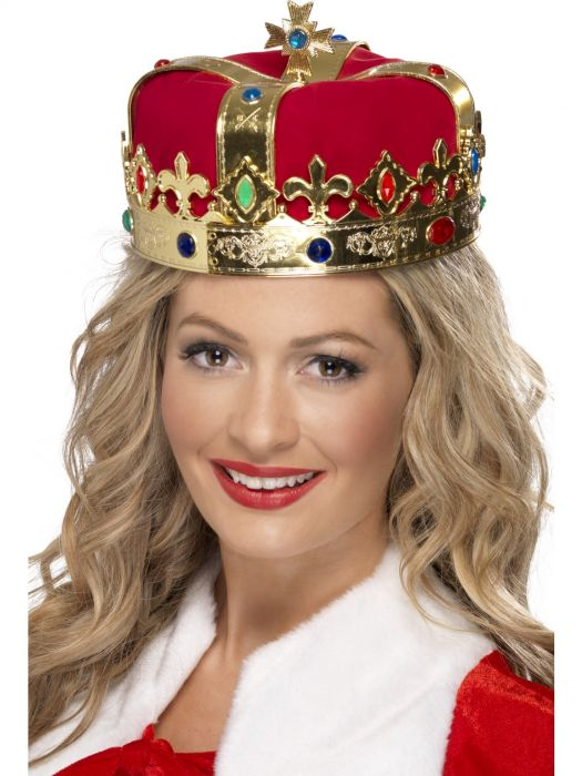 queens red jewelled crown costume sunbury costumes