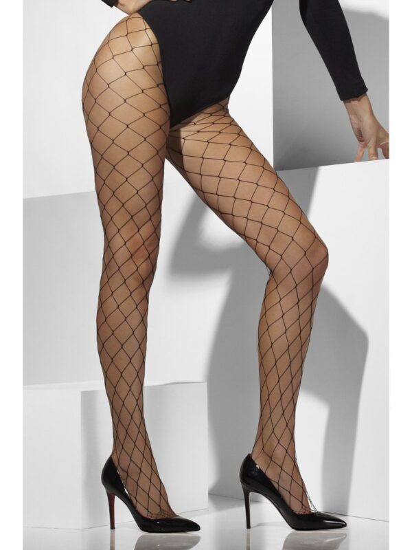 black diamond net tights woman hosiery sunbury costumes