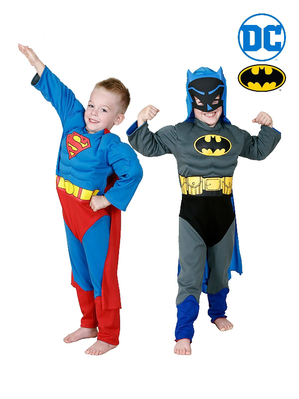 batman superman reversible child costume sunbury costumes