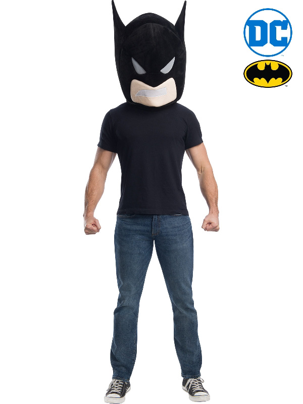 batman mascot head mask sunbury costumes