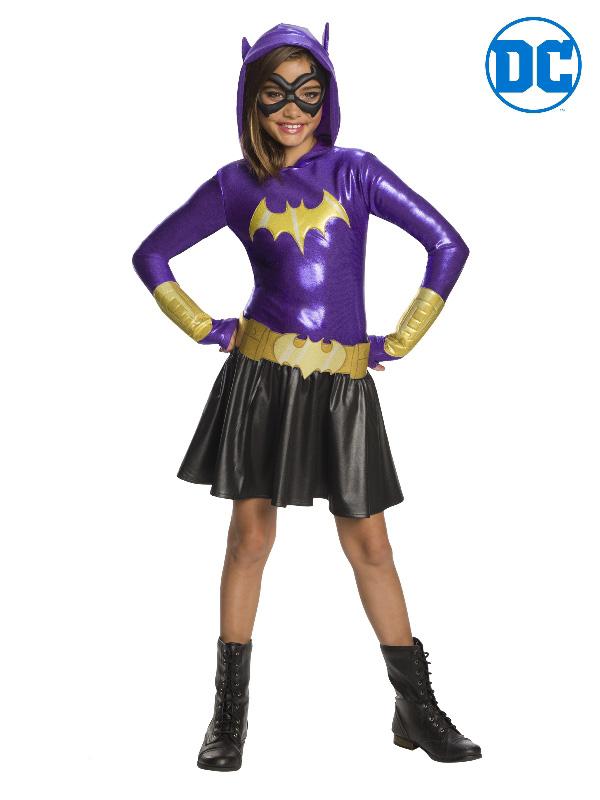 batgirl super hero hoodie dc costume sunbury costumes