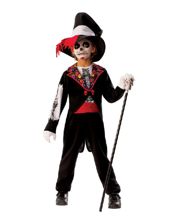 day of the dead halloween boys costume sunbury costumes
