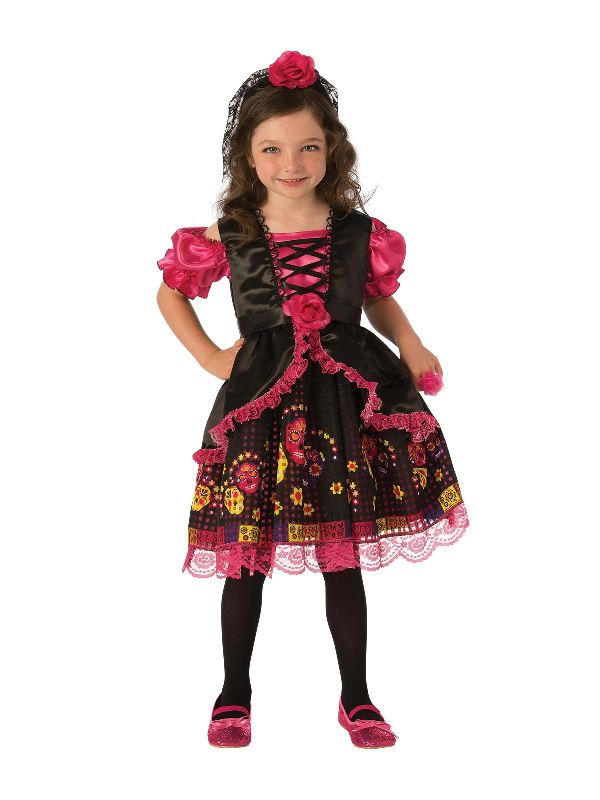 day of the dead halloween girls costume sunbury costumes