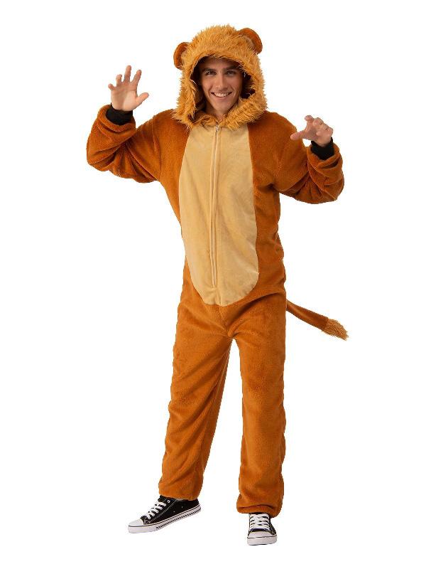 book week lion adult unisex onesie costume sunbury costumes