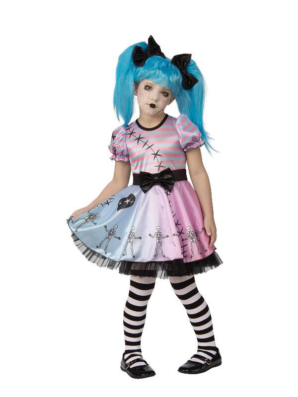 little blue skelly girl costume halloween sunbury costumes
