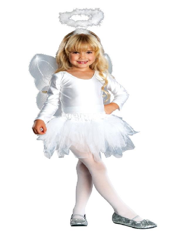 angel child costume white satin tutu dress christmas sunbury costumes