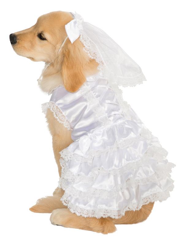 white bride pet dog costume sunbury costumes