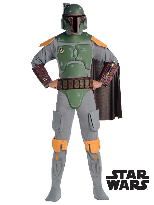 boba fett mandalorian costume star wars bounty hunter mens adult sunbury costumes