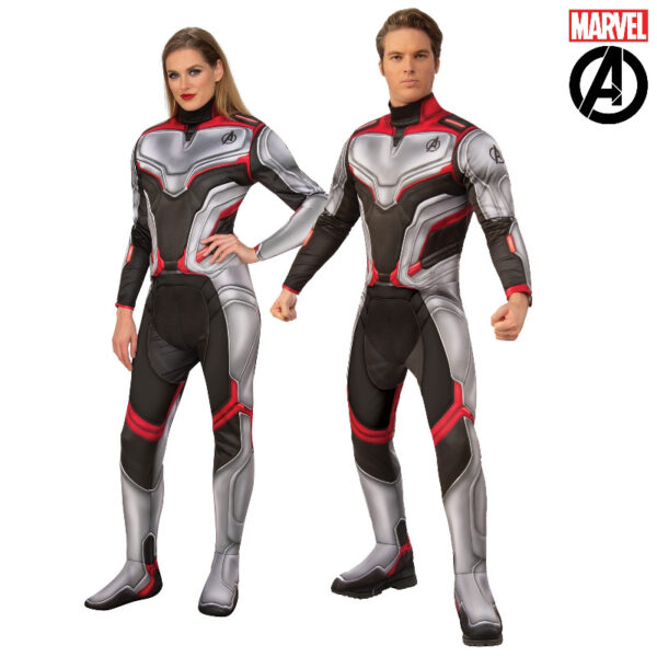 avengers 4 deluxe team suit adult costume sunbury costumes