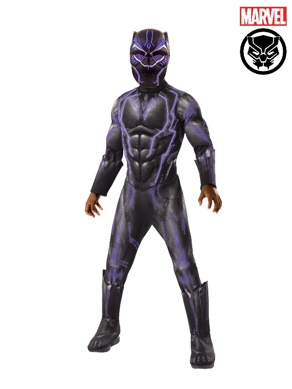 marvel black panther super deluxe battle costume sunbury costumes