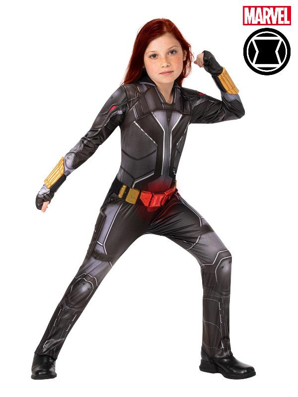 black widow marvel deluxe child costume sunbury costumes