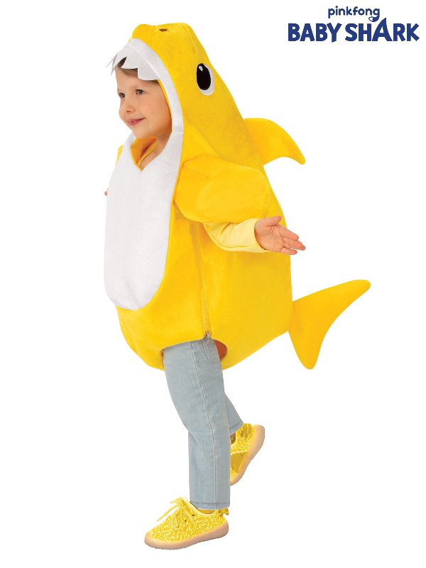 baby shark yellow kids costume sunbury costumes