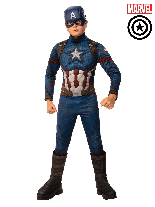 captain america avengers marvel deluxe child costume sunbury costumes