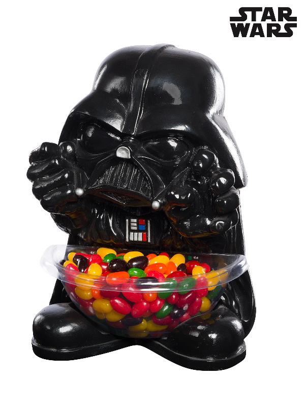 darth vader star wars moulded mini statue candy bowl sunbury costumes