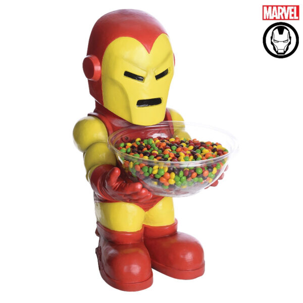 iron man marvel candy bowl moulded statue accessories sunbury costumes