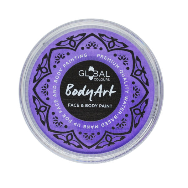 lilac global colours body art cake 32g sunbury costumes