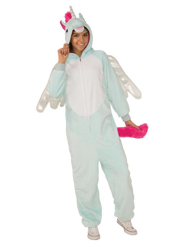 book week unicorn pegacorn furry adult unisex onesie costume sunbury costumes