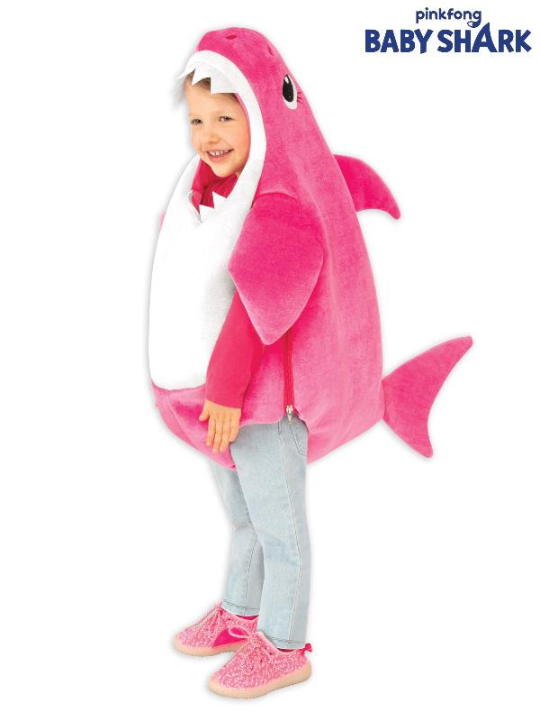 mummy shark pink toddler small costume sunbury costumes