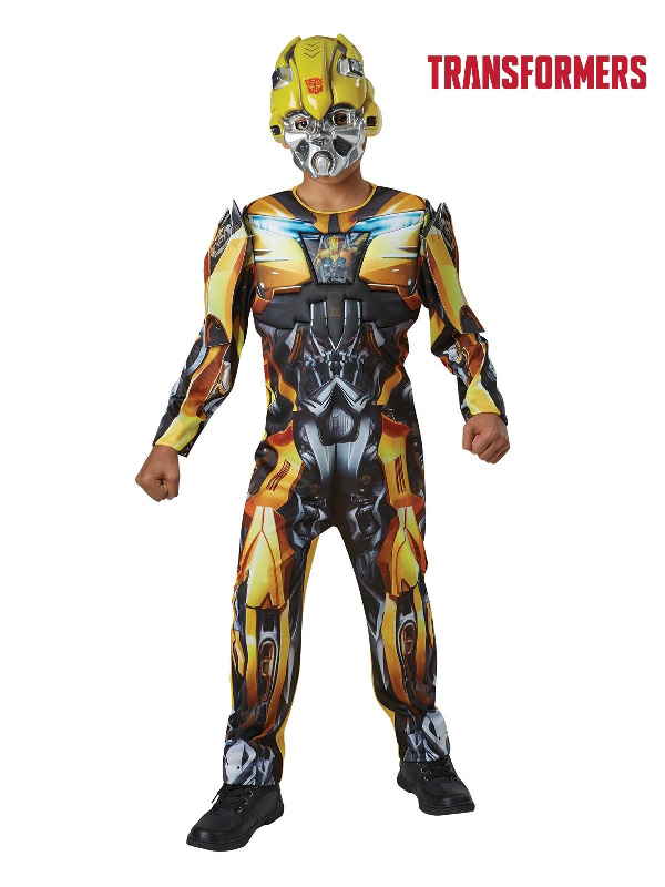 transformers bumblebee deluxe child costume sunbury costumes